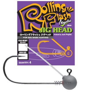 Nogales Rolling Flash Jig Head