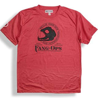 DUO Fang Ops Beast Dry T-Shirt - Mixed Red - M